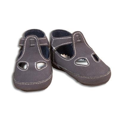 Sandalo due buchi blu per neonato