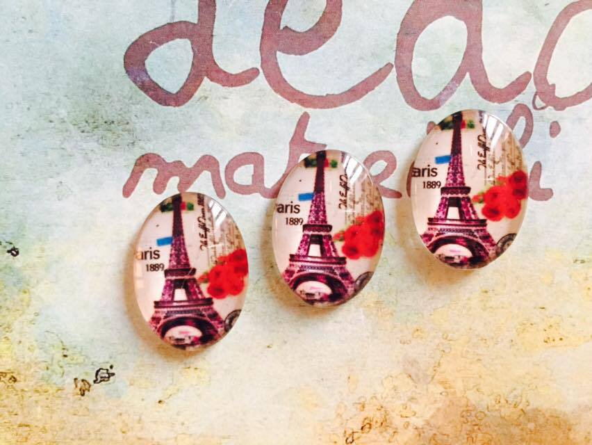 Cabochon Torre Eiffel mod.046