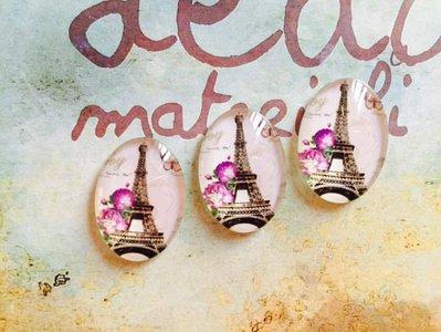 Cabochon Torre Eiffel mod.047