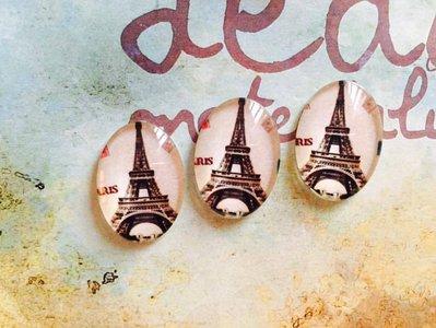 Cabochon Torre Eiffel mod.048