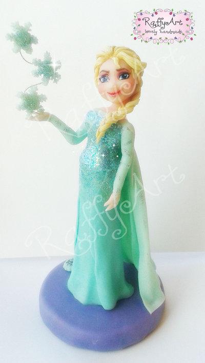 Cake topper Frozen Elsa (vers. 2)