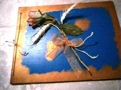 Album da foto azzurro