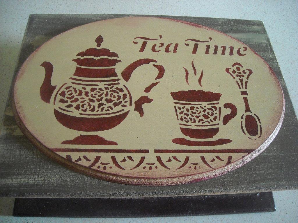 Scatola porta bustine tè o tisane