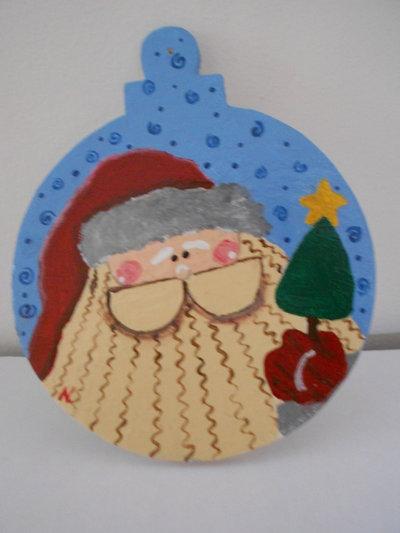 Pallina Babbo Natale