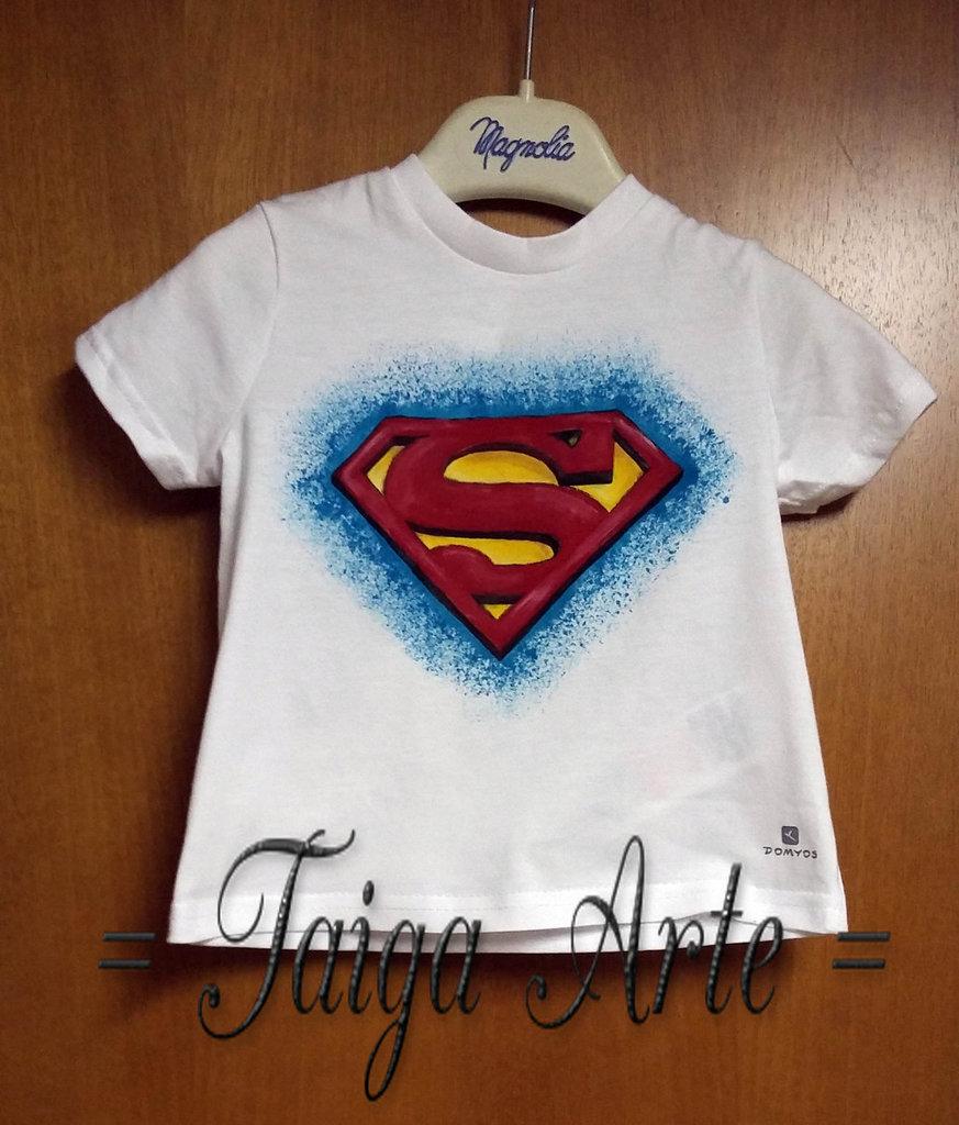 Maglietta Superman per bimbi!