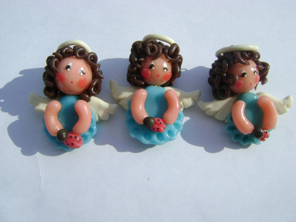 angioletti di porcellana fredda