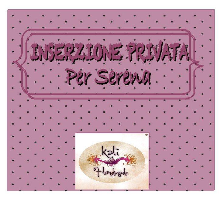 INSERZIONE PRIVATA_ per SERENA