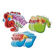 Teacher Aides Wall Cut-Outs - Music