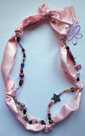 Collana rosa 003