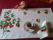 Servizio da colazione dipinto a mano