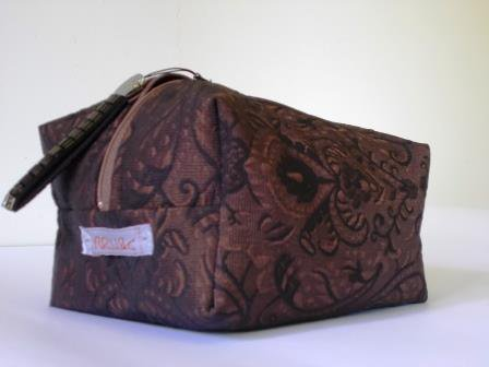 Boxie Pouch Brown-Black