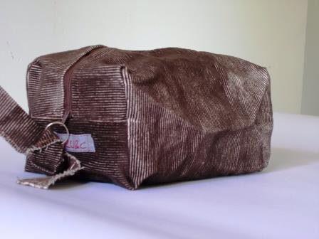 Boxie Pouch Brown