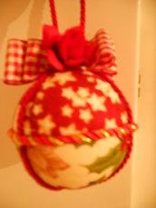 Pallina Natale con rosellina