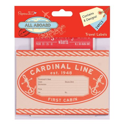 Travel Labels - All Aboard
