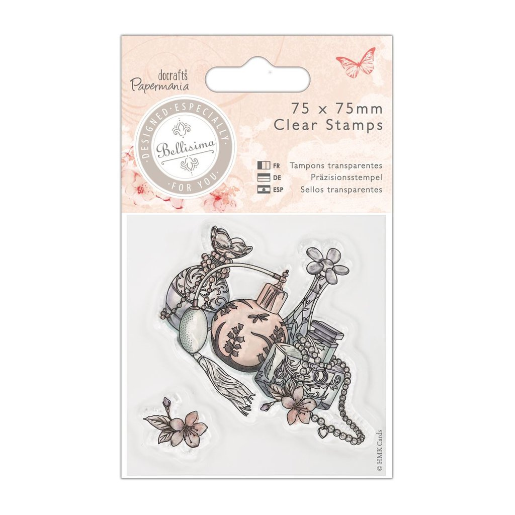 "Mini Clear Stamp - Bellisima ""Perfume"""