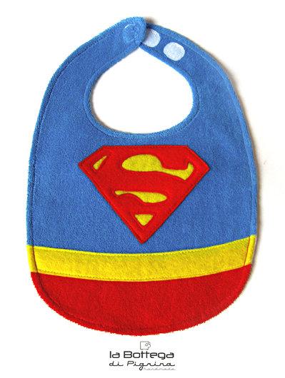 Bavaglino Superman per neonato