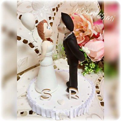 Cake Topper per matrimonio - wedding cake topper