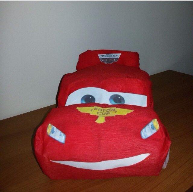 Torta pannolino Cars