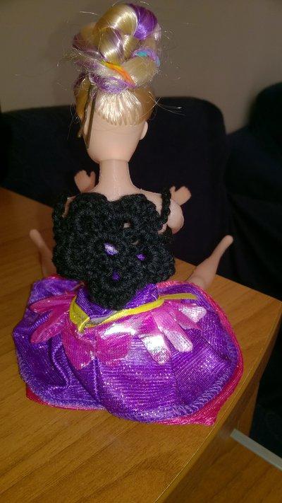 zainetto a fiore barbie