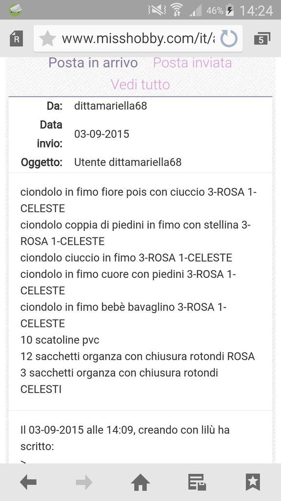 inserzione riservata dittamariella68