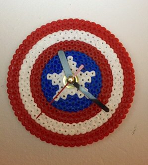 Orologio da parete Capitan America
