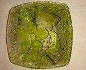 Svuotatasche in vetro decorato a mano