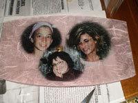 Piatto di vetro personalizzato con le vostre foto