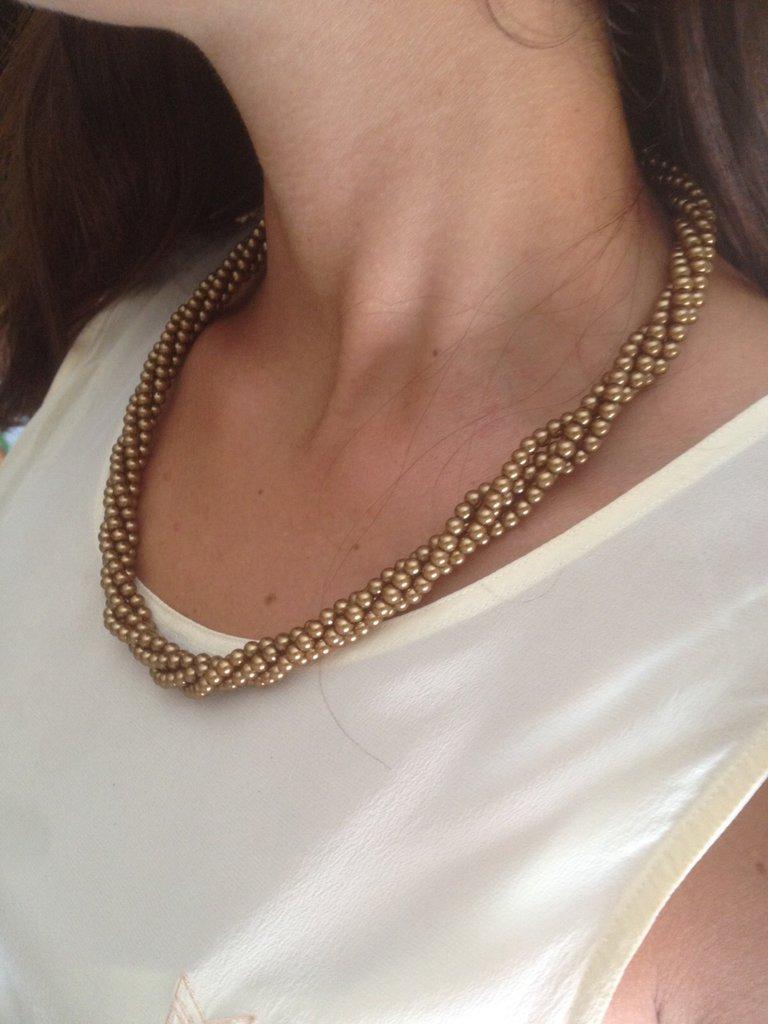 Collana girocollo bronzo