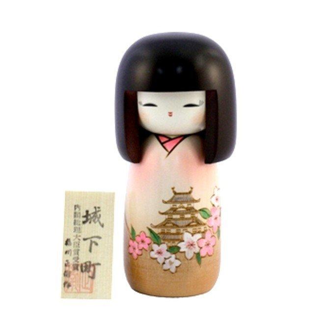 Bambola giapponese - Kokeshi Castello