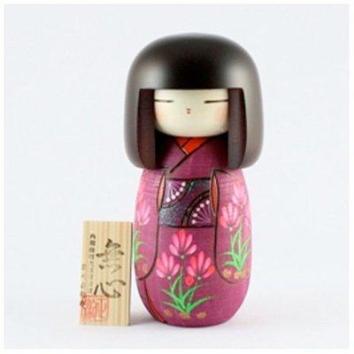Bambola giapponese - Kokeshi Meditazione