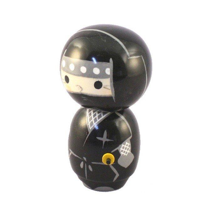 Bambola giapponese - Kokeshi Ninja