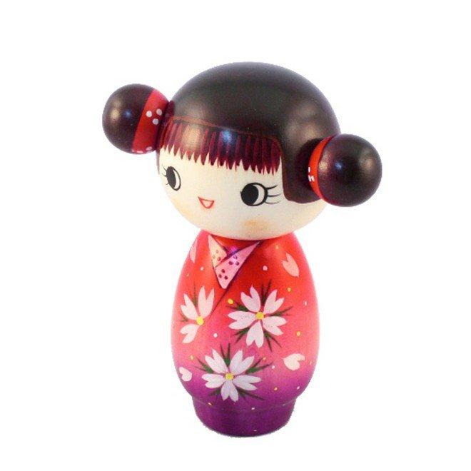 Bambola giapponese - Kokeshi Splendore