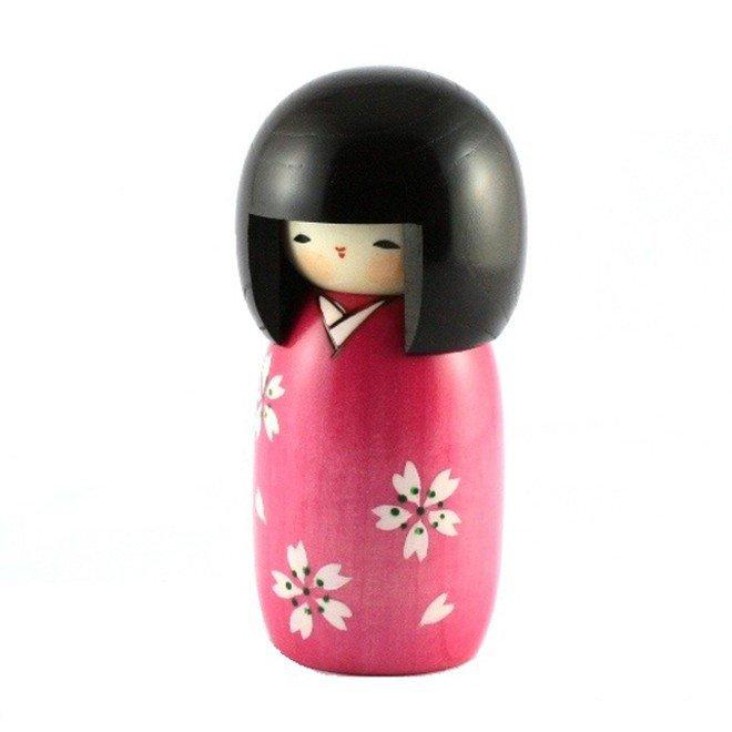 Bambola giapponese - Kokeshi Sakura