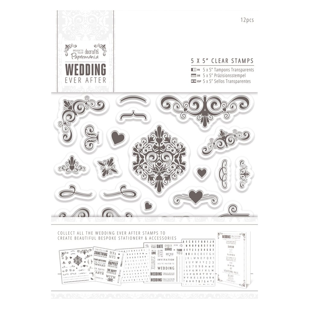 Clear Stamps - Flourishes