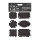 Chalkboard Stickers (24pcs) - Frames