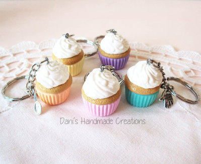 Portachiavi cupcake grande