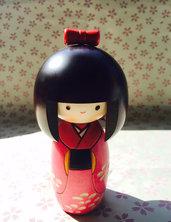 Bambola giapponese - Kokeshi Haru no Kaze