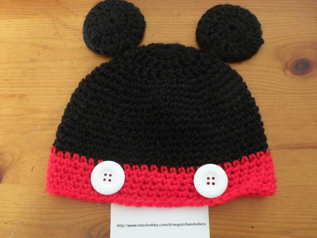 Cappello topolino e minnie
