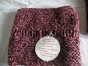 scaldacollo sciarpa in lana