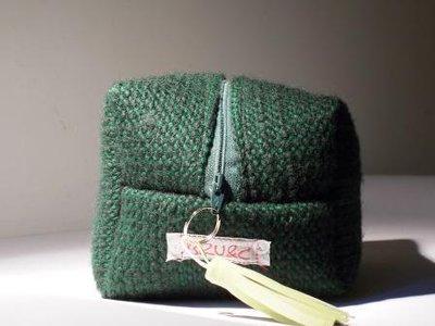 Boxie Pouch Verde scuro