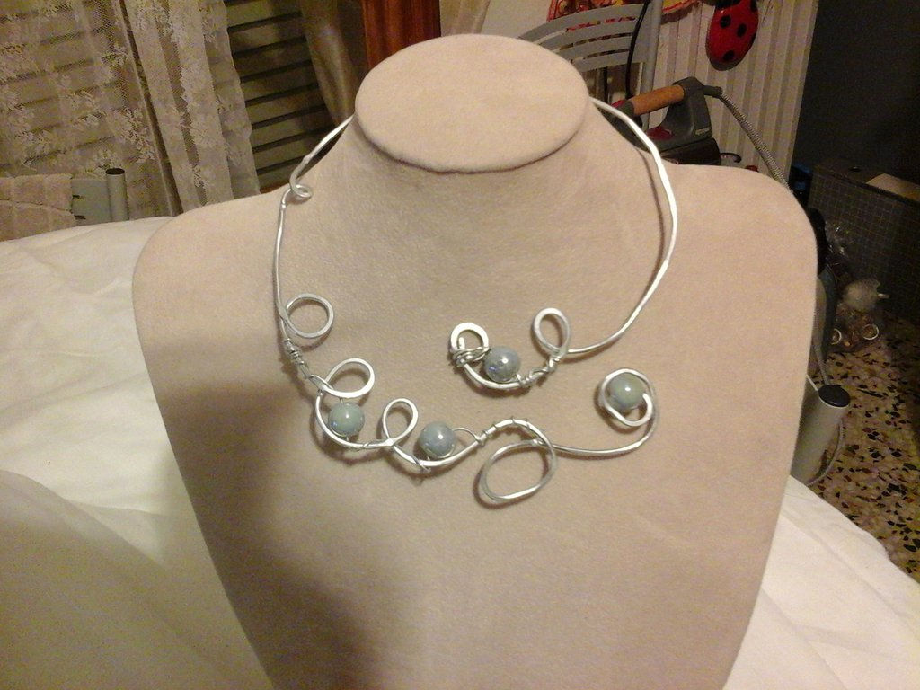 collana in wire