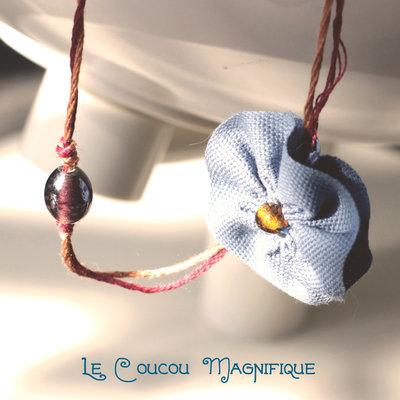 Collana lunga romantica con fiocchi - C.36.2015