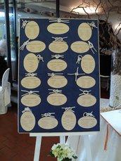 TABLEAU DE MARIAGE SU ORDINAZIONE