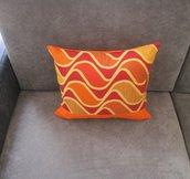 cuscino color arancione