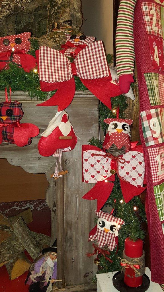 Fiocchi decorativi natalizi feste natale di garden testaflora su misshobby - Nastri decorativi natalizi ...