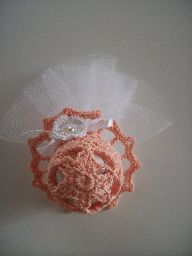 Cappellino bomboniera confettata