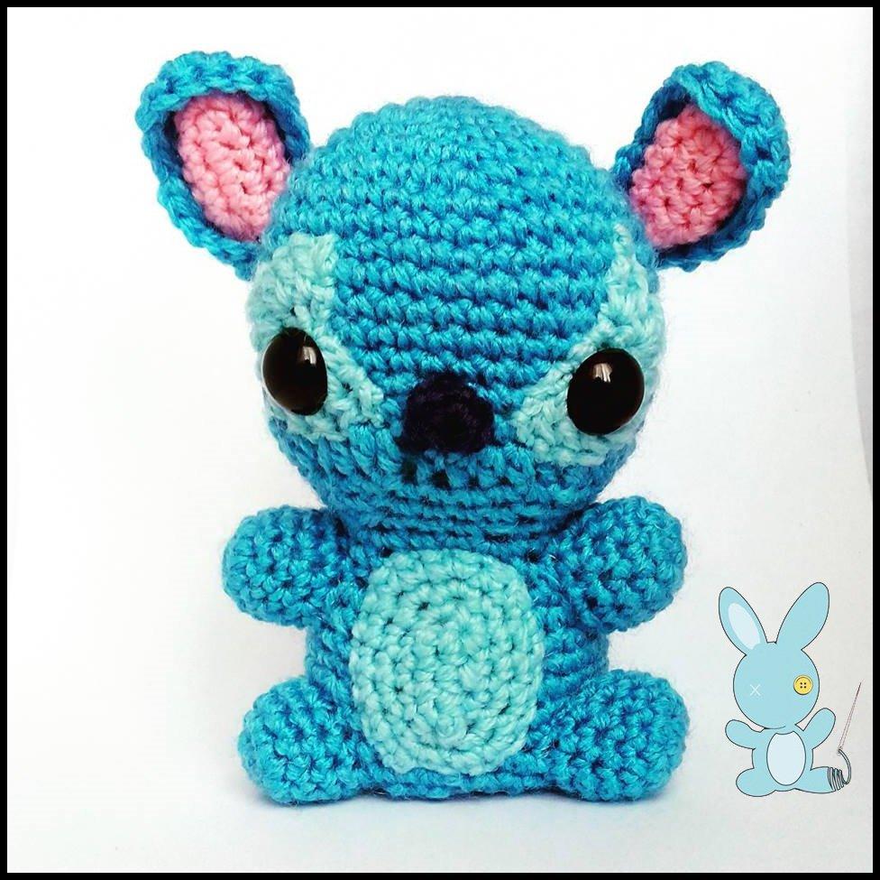 Stitch Amigurumi Kawaii - Per la casa e per te - Bambole e ...