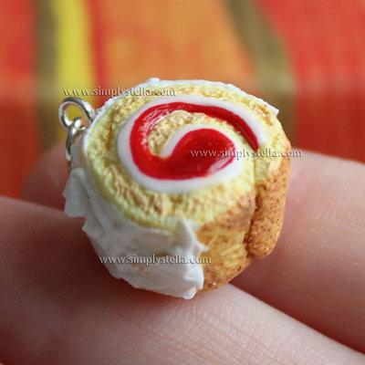 Roll Cake - Ciliegia e cocco
