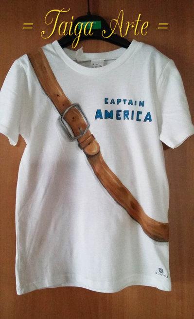 Maglietta Capitan America