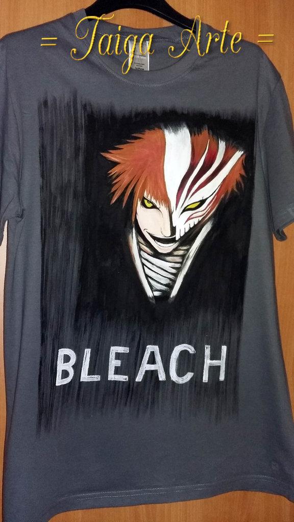 Maglietta grigia Bleach